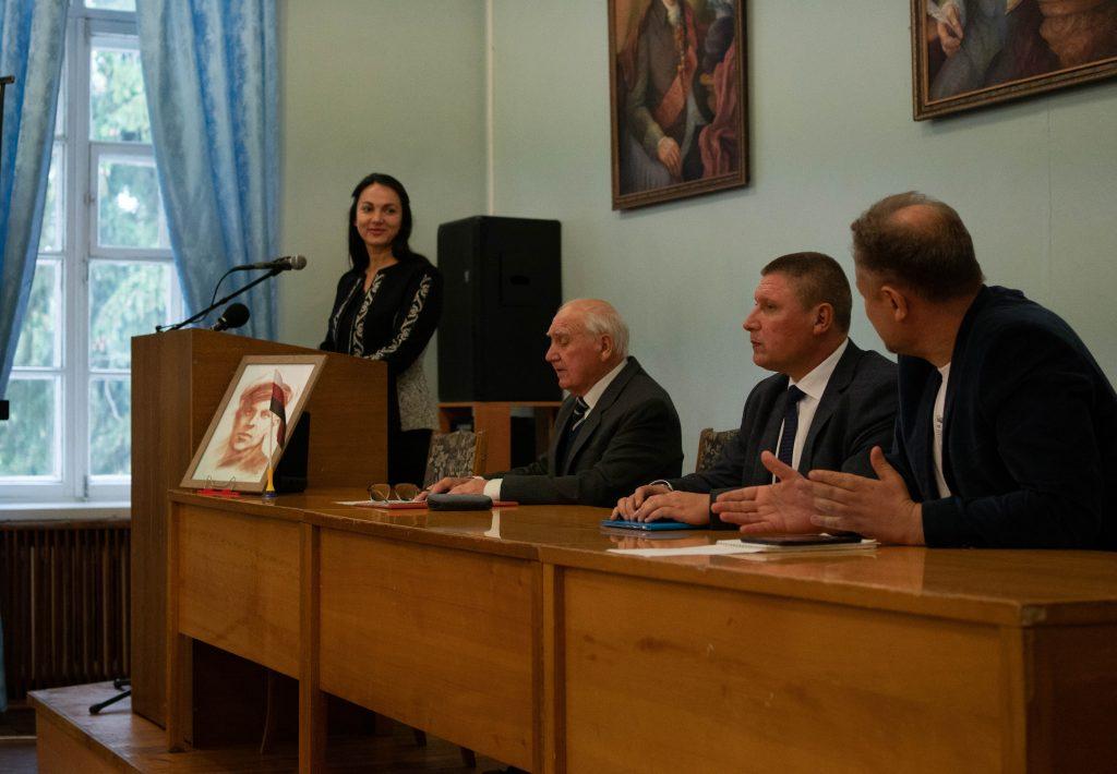 Виступає Голова Комітету у закордонних справах Верховної Ради VIII скликання Ганна Гопко